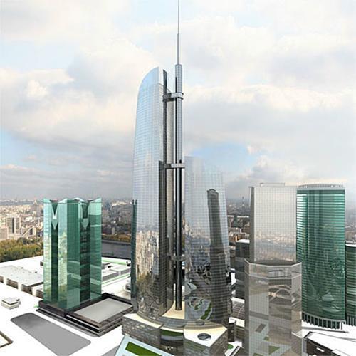 钢结构摩天大楼